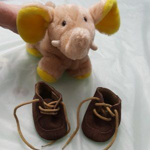 Super-cute Suede Brown Moccasin Size 2